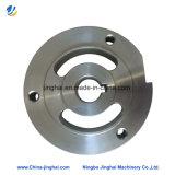 Precisione che lavora intorno alla flangia dell'acciaio inossidabile della strumentazione del laser