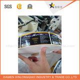 Ярлык печатание стикера протиркой бумаги любимчика сопротивляя напечатанный принтером слипчивый