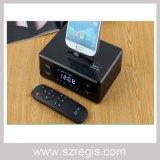 Роторная поддержка NFC стерео дикторов Bluetooth основания мобильного телефона для iPhone и Samsung