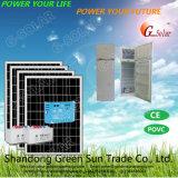 холодильник DC большой емкости 218L солнечный для домашней пользы