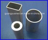 6063 tubo/tubos de aluminio del perfil de la protuberancia de T 5 con trabajar a máquina y la anodización