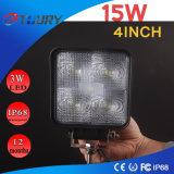 15W LED ضوء العمل للسيارات