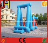 販売のための気密の膨脹可能な水スライドの膨脹可能な水のスライド