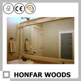 Blocco per grafici di legno dello specchio dell'oggetto d'antiquariato di formato medio per la stanza da bagno