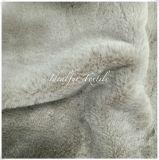 柔らかい品質のウサギののどの毛皮/擬似毛皮