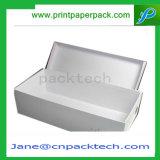 주문을 받아서 만들어진 인쇄된 종이상자 의복 상자 포장 상자 구두 상자