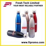 Fördernde Edelstahl-Wasser-Flasche