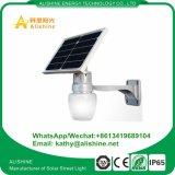 12Wリチウム電池が付いている太陽Appleの庭ライト