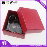 Handgemachter Schwamm-Fussel-Samt-Halsketten-Armband-Schmucksache-Kasten