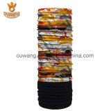 Шарф ватки изготовленный на заказ печатание логоса выдвиженческий трубчатый приполюсный