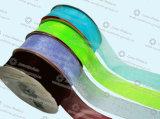 縫うアクセサリの多彩なオーガンザのリボン