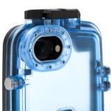 Случай крышки iPhone профессионального подныривания способа водоустойчивый всеобщий