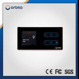 Interruptor de pantalla Orbita Hotel Smart Light Touch con ahorro de energía