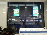 doppio comitato Digital Dislay dell'affissione a cristalli liquidi degli schermi 43-Inch che fa pubblicità al giocatore, visualizzazione dell'affissione a cristalli liquidi del contrassegno di Digitahi,
