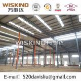 Struttura d'acciaio prefabbricata del magazzino