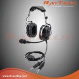 Шум отменяя шлемофон Pnr авиации с двойными штепсельными вилками