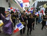 Su ordinazione impermeabilizzare e modello no. della bandiera nazionale del Panama della bandiera nazionale di Sunproof: NF-026