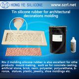 文化的な石の作成のための鋳造物のシリコーンゴム