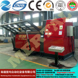Máquina de rolamento aprovada personalizada Mclw12xnc-25*3000 do dobrador da placa do CNC do Ce