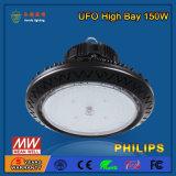 OEM IP44 150W LED高い湾ライトハウジング