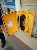 2017拡声器と防水よいフィードバックの非常電話Knsp-08Lの破壊者の抵抗力がある電話