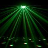 Luz del efecto de mariposa del poder más elevado RGBW LED Derby para el disco