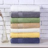 超中国の工場贅沢によってカスタマイズされるカラー綿のホテルタオル
