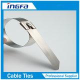 ジッパーケーブルをロックする頑丈なステンレス鋼の排気は12inchを結ぶ