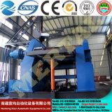 최신! Mclw12CNC-120*3000 큰 유압 CNC 4 대 롤러 격판덮개 구부리거나 회전 기계