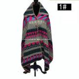 Più nuova signora calda di cucito squisita di prima scelta Fashion Winter Scarf dello scialle