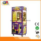 Pequeña máquina de interior de la grúa de la garra del juguete de la grúa de la máquina de juego para la venta