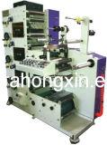 Impresora flexográfica para la escritura de la etiqueta
