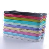 Het volledige Behandelde Dubbele Geval van de Telefoon van de Kleur Zachte Mobiele voor Samsung S5