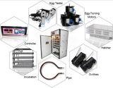 Être dans le petit incubateur solaire courant de 1232 oeufs pour la machine de Hathery de volaille
