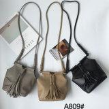 Saco simples de couro da forma do saco de ombro do plutônio da bolsa das senhoras do estilo do lazer