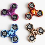 Adultos Wheel LED Bearing Camo Camouflage Style Hand Fidget Spinner