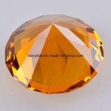 80mm grosser Kristallglas-Diamant für Andenken