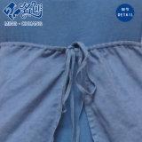 Robe sexy de Rond-Collier de Supérieur-Inférieur-Joint de mode sexy sans manche grise et bleue de dames
