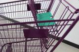 180 litros del supermercado de carro de compras americano Mjy-180c2