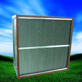 Filtro de ar de alta temperatura do separador HEPA