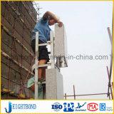 Comité van de Honingraat van het Aluminium van het Ontwerp van de manier het Marmeren voor Bouwmateriaal in China