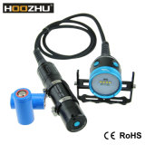 Hoozhu Hv33 크리 사람 LED 잠수 영상 가벼운 최대 4000lm는 100m를 방수 처리한다