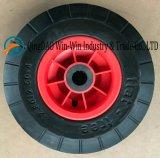 피마자 바퀴 (2.80/2.50-4)에 사용되는 편평하 자유로운 PU 바퀴