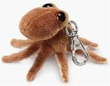 Het levende Dierlijke Mini Gevulde Dierlijke Stuk speelgoed Keychain van de Pluche voor Bevordering