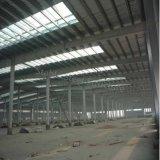 Edifício claro moderno da fábrica da oficina da construção de aço para a venda