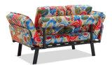 2台の調節可能なArmrestsが付いているベッド付きのマットレスのソファー