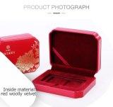 Китайская классика рециркулирует коробку подарка монетки Бамбук-Пластмассы