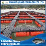 Рыбозаводы культуры пруда HDPE интенсивнейшие плавая ферма клетки