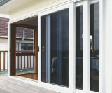 Раздвижные двери с изготовлением Austrilian стандартным стеклянным Pnoc