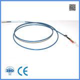 Tipo par termoeléctrico do uso médico K com terminal do cabo